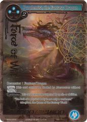 Purplemist, the Fantasy Dragon - MOA-029 - R - Full Art