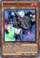 Infernoid Decatron - CORE-EN039 - Super Rare - 1st Edition
