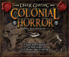 A Touch of Evil: Dark Gothic Deck Building Game - Colonial Horror Expansion