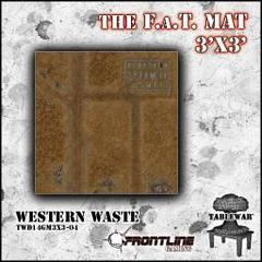 F.A.T. Mat: Western Waste 3x3'