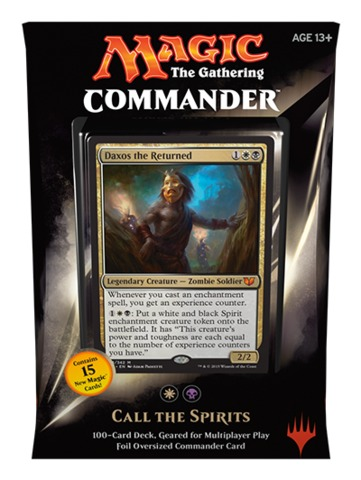 Commander 2015: Call the Spirits Deck (White/Black)