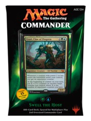 Commander 2015: Swell the Host (Blue/Green) on Channel Fireball
