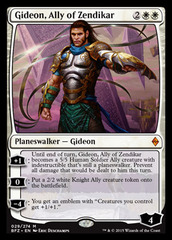 Gideon, Ally of Zendikar on Channel Fireball