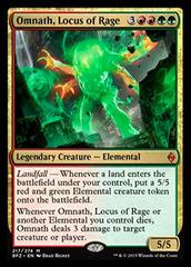 Omnath, Locus of Rage - Foil