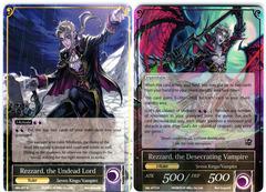 Rezzard, the Undead Lord // Rezzard, the Desecrating Vampire - SKL-077 // SKL-077J - R - 1st Edition