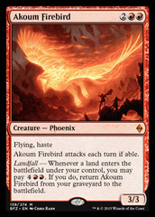 Akoum Firebird on Channel Fireball
