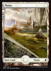 Plains - Foil (253)(BFZ)