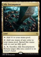 Ally Encampment - Foil on Channel Fireball