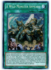 A Wild Monster Appears! - MP15-EN234 - Secret Rare - 1st Edition on Channel Fireball