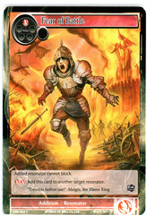 Fear of Battle - SKL-023 - C - 1st Edition (Foil)