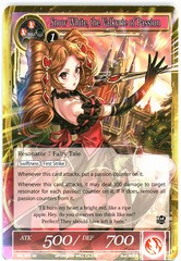 Snow White, the Valkyrie of Passion - SKL-031 - SR - 1st Edition (Foil)