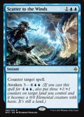 Scatter to the Winds - Foil