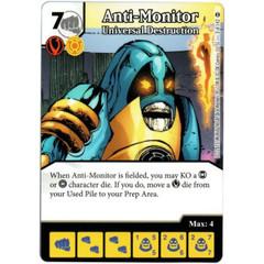 Anti-Monitor - Universal Desctruction (Die & Card Combo)