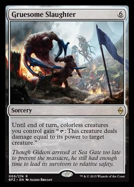 Gruesome Slaughter - Foil