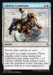 Adverse Conditions on Channel Fireball