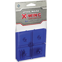Star Wars: X-Wing Miniatures Game - Blue Bases and Pegs