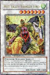 Mist Valley Thunder Lord - DT02-EN090 - Ultra Rare - 1st Edition