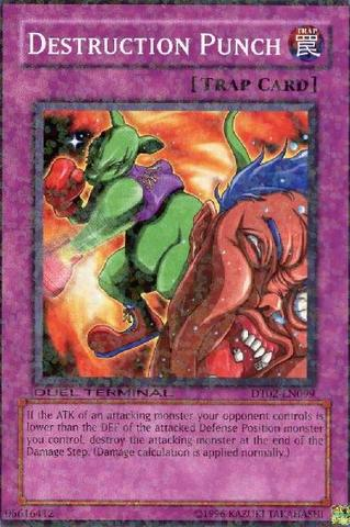 Destruction Punch - DT02-EN099 - Parallel Rare - Duel Terminal