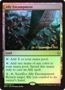 Ally Encampment (Battle for Zendikar Prerelease Foil)