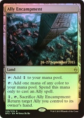 Ally Encampment (Battle for Zendikar Prerelease Foil) on Channel Fireball