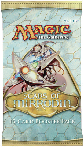 Scars of Mirrodin Booster Pack