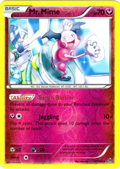 Mr. Mime - 97/162 - Rare - Reverse Holo