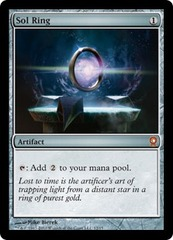 Sol Ring - Foil on Channel Fireball