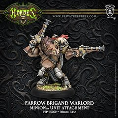 Farrow Brigand Warlord—Minion Unit Attachment