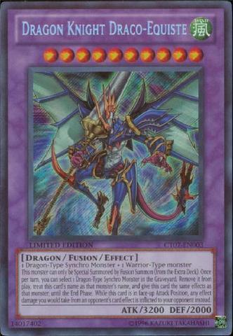 Dragon Knight Draco-Equiste - CT07-EN003 - Secret Rare - Limited Edition