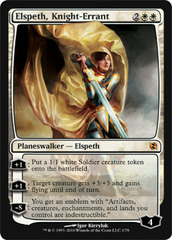 Elspeth, Knight-Errant - Foil on Channel Fireball