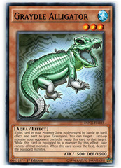 Graydle Alligator - DOCS-EN033 - Common - 1st Edition on Channel Fireball
