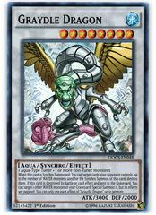 Graydle Dragon - DOCS-EN048 - Super Rare - 1st Edition
