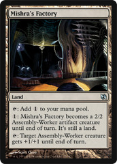 Mishra's Factory on Channel Fireball