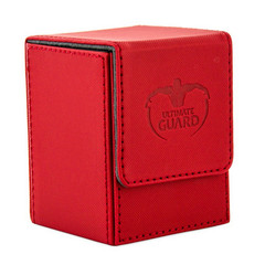 Ultimate Guard Flip Deck Case Xenoskin 100+ - Red