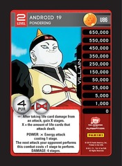 Android 19 - Pondering - Foil