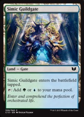 Simic Guildgate on Channel Fireball