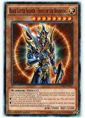 Black Luster Soldier - Envoy of the Beginning - YGLD-ENA02 - Common - 1st Edition