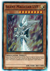 Silent Magician LV8 - YGLD-ENC04 - Ultra Rare - 1st Edition