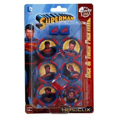 Superman/Wonder Woman Dice and Token Pack - Superman