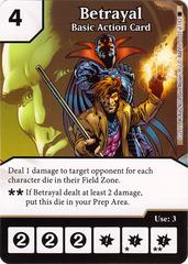 Betrayal - Basic Action Card (Die & Card Combo)