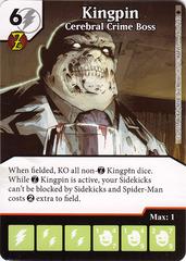 Kingpin - Cerebral Crime Boss (Die & Card Combo)