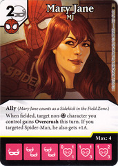 Mary Jane - MJ (Card Only)