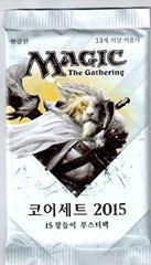 Magic 2015 Booster Pack - Korean