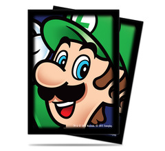 Ultra Pro Standard Size Super Mario: Luigi Sleeves - 65ct