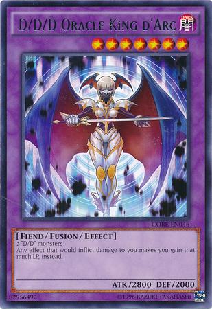 D/D/D Oracle King d'Arc - CORE-EN046 - Rare - Unlimited Edition