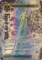 Excalibur, the God's Sword - TTW-097 - R - 1st Edition - Full Art