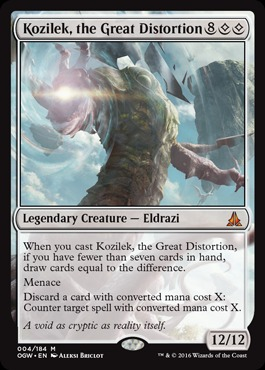 Kozilek, the Great Distortion - Foil