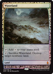 Wasteland - Foil (Zendikar Expedition: Oath of the Gatewatch Lands)