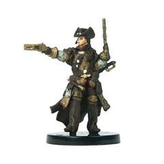 Lirianne, half-elf gunslinger