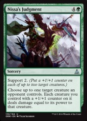 Nissa's Judgment - Foil